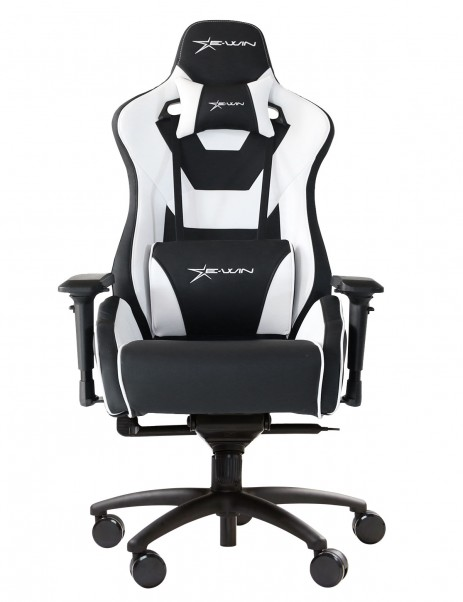 EWin Flash Series Ergonomic Normal Size Computer Gaming Office Chair with Pillows - FLNC