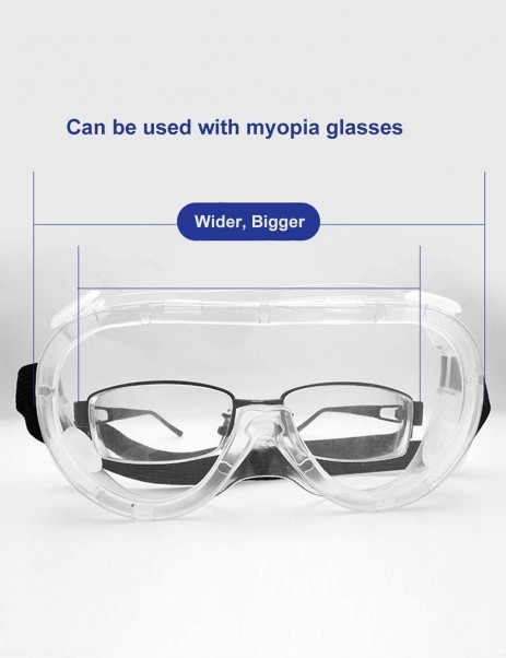 Virus Goggles Safety Protective Goggles anti-fog anti-saliva eye protection goggles transparent goggles