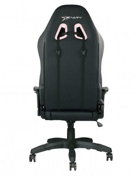 E-WIN 2.0 Pink Gaming Desk Setup